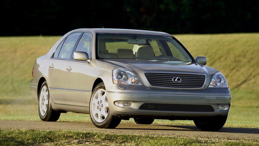 2000 год. Lexus LS 3-го поколения (XF30)
