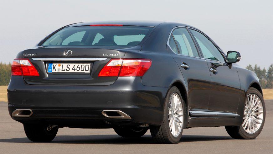 2009 год. Lexus LS 4-го поколения после рестайлинга (XF40)