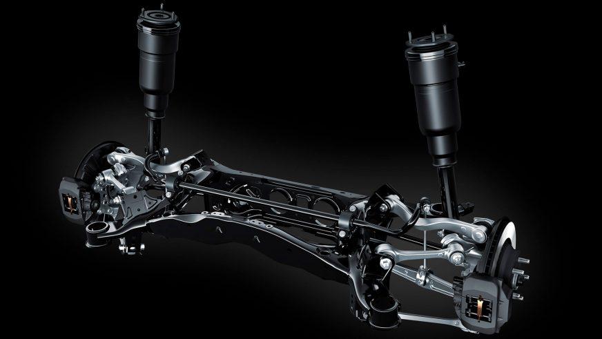 Lexus LS 500 - 2017 - подвеска