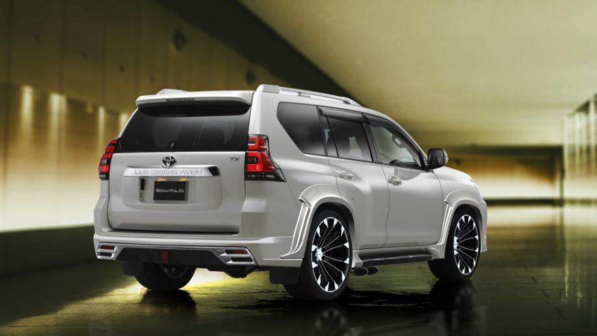Японцы представили агрессивный тюнинг Toyota LC Prado