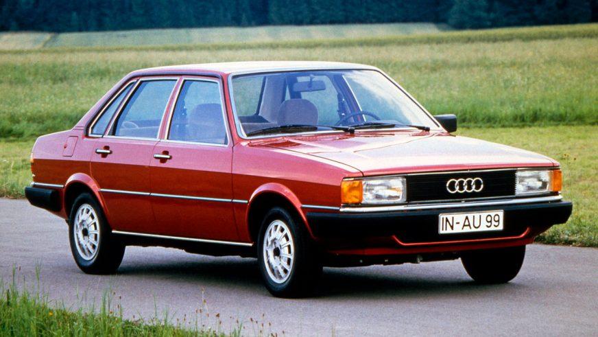 1978 год — Audi 80 (B2)