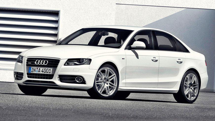 2007 год — Audi A4 (B8)