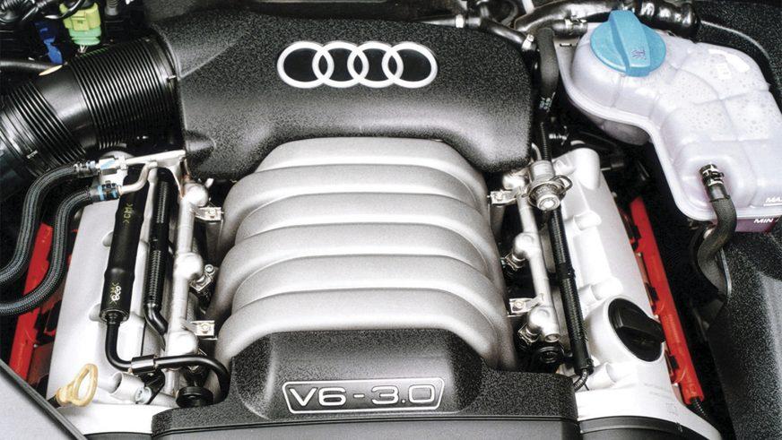 Audi A4 3.0 quattro - 2004 - двигатель