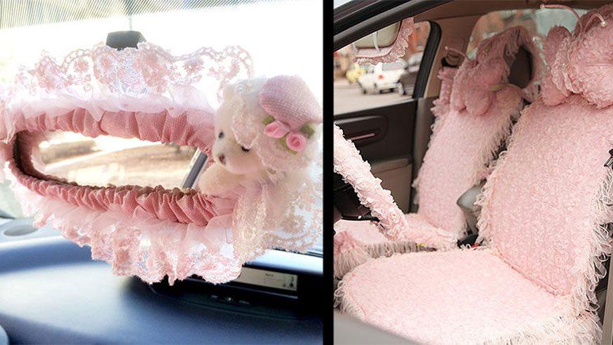 Комплект «белья» с рюшами для всего салона