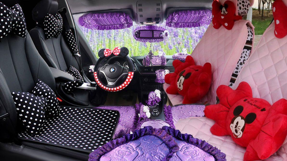 10 забавных подарков девушке в автомобиль на 8 Марта