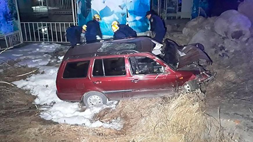 Один человек погиб в ДТП на спуске с БАО