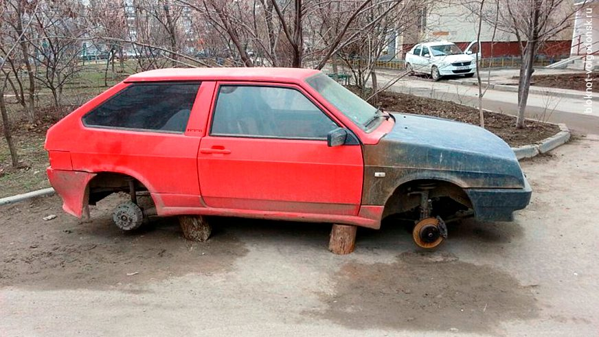 Как уберечь колёса от кражи?