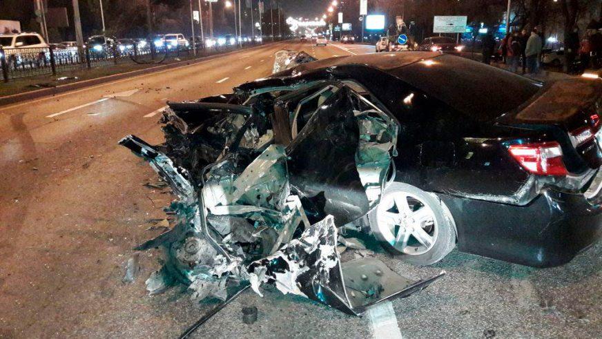 Авария на Аль-Фараби