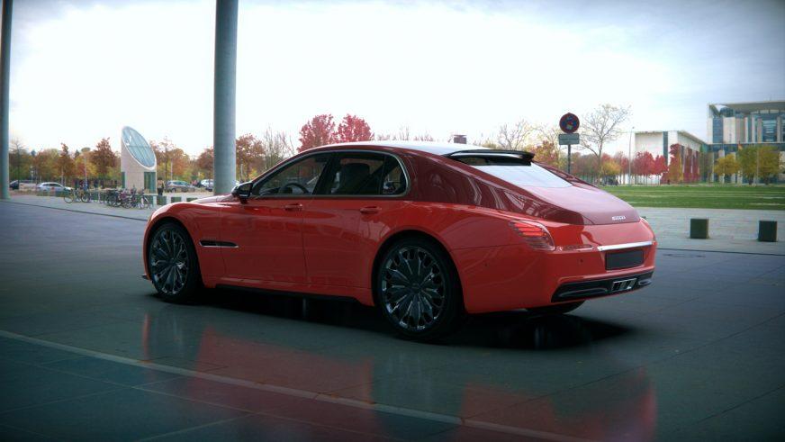 Дизайнер представил современный вариант ГАЗ-M20 «Победа»