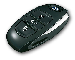 Volkswagen Touareg - 2012 - ключ
