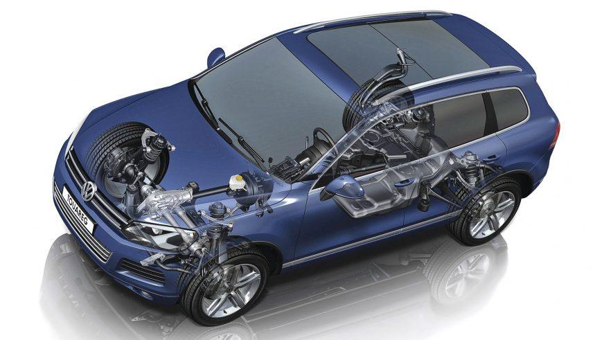 Volkswagen Touareg - 2012 - шасси