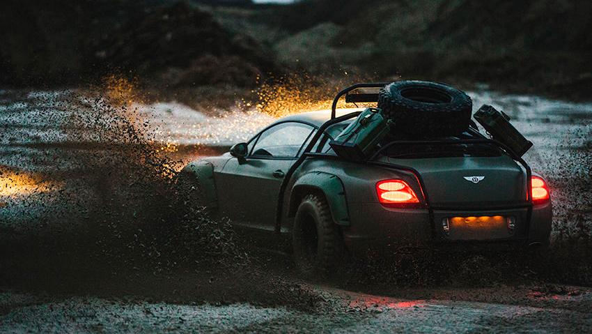 Bentley Continental GT, который построили в рамках телешоу Supercar Megabuild на канале National Geographic