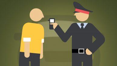 Как должны проверять на опьянение водителей