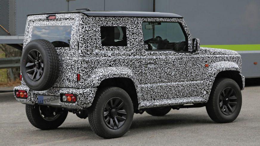 Suzuki остановила производство Jimny