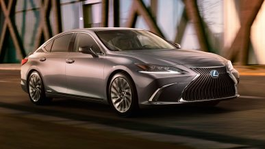 Раскрыта внешность нового Lexus ES