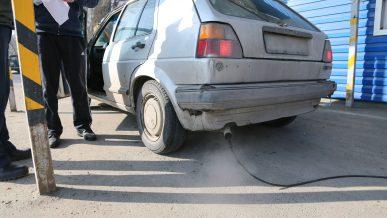 На экопостах при въезде в Алматы штрафовали незаконно
