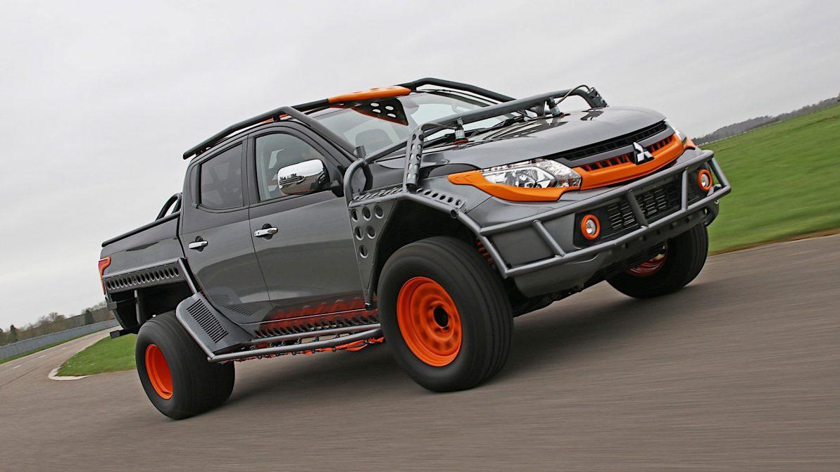 Mitsubishi построила крутой L200, но продавать его не будет