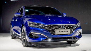Hyundai показала первую модель с новым фирменным лицом