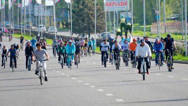 Велопробег в Алматы 29 апреля пройдёт по новому маршруту