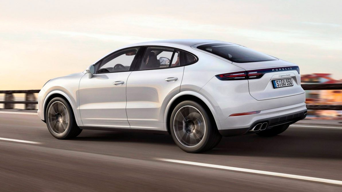 Porsche Cayenne Coupe представят уже в 2018 году