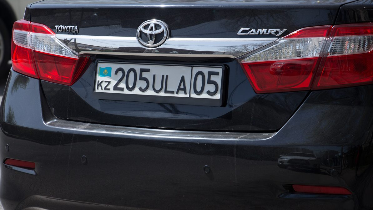 Любой номер смогут выбрать казахстанцы при регистрации авто