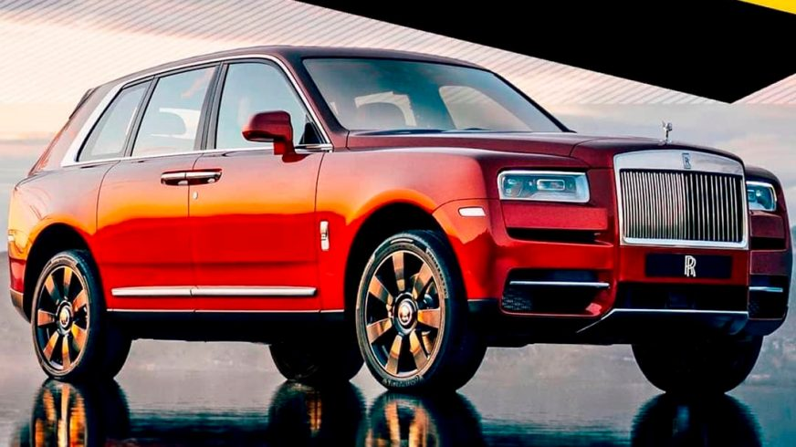 Фотографии внедорожного Rolls-Royce утекли в Сеть
