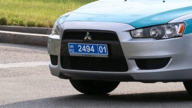 Госномера на полицейских авто лишатся букв KP