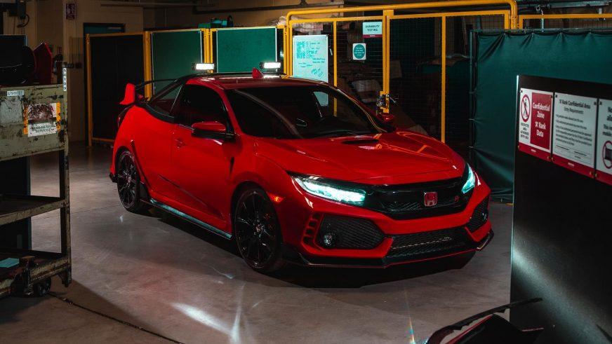 Honda превратила заряженный Civic Type R в пикап