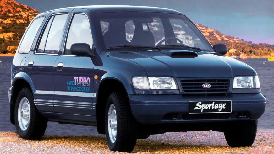 1993 жыл. Kia Sportage-дің алғашқы буыны (JM)