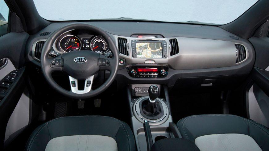 2014-2015. Kia Sportage (SL) рестайлингтен кейін