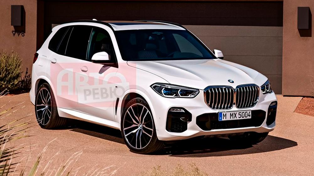 Фото нового BMW X5 без камуфляжа