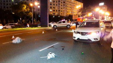 Девушку, перебегавшую проспект Аль-Фараби, сбили насмерть