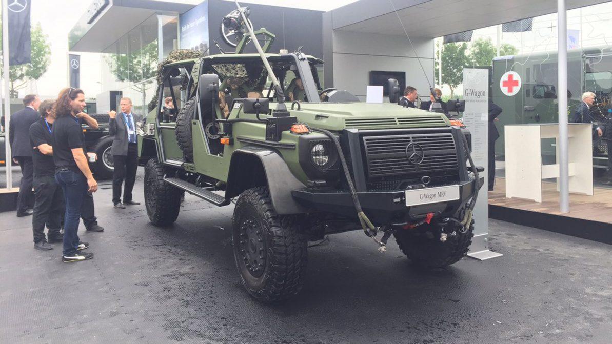 Для военных создали новую версию Mercedes-Benz G-Class