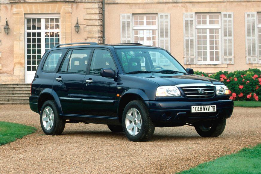 Suzuki Grand Vitara XL7 (2001-2003)