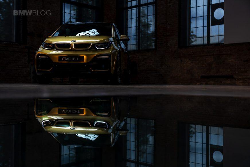 BMW создала две машины с золотым напылением