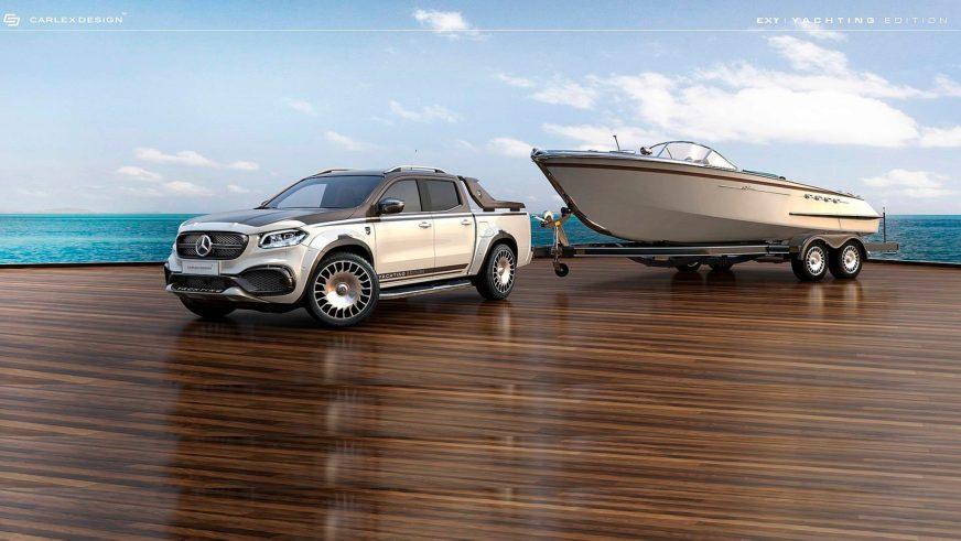 Тюнеры превратили X-Class в роскошный тягач для яхт