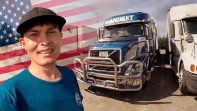 Сколько может заработать дальнобойщик из РК в США?