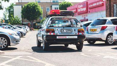 Старая Toyota без единой поломки добралась из Кейптауна до Лондона