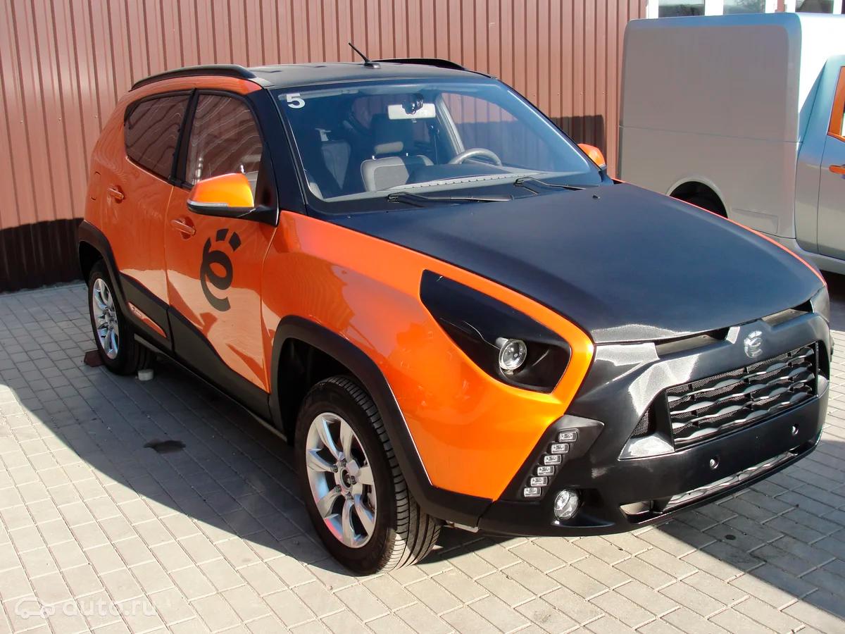 Прототипы ё-мобиля появились в продаже в Минске