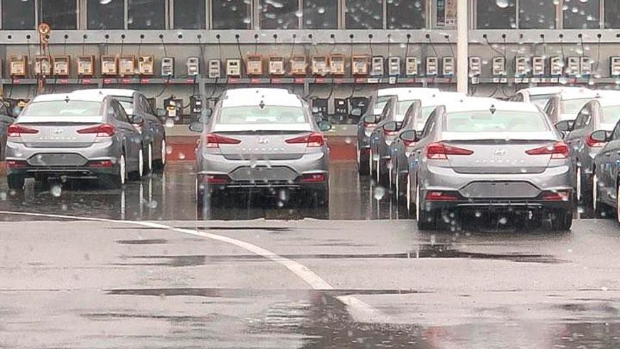Раскрыт дизайн обновлённой Hyundai Elantra