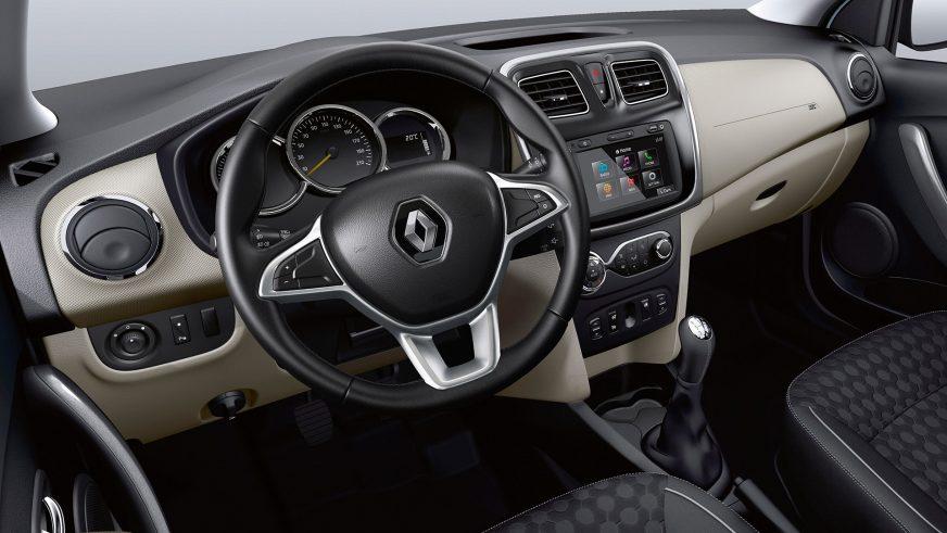 Renault Logan и Sandero для СНГ обновились