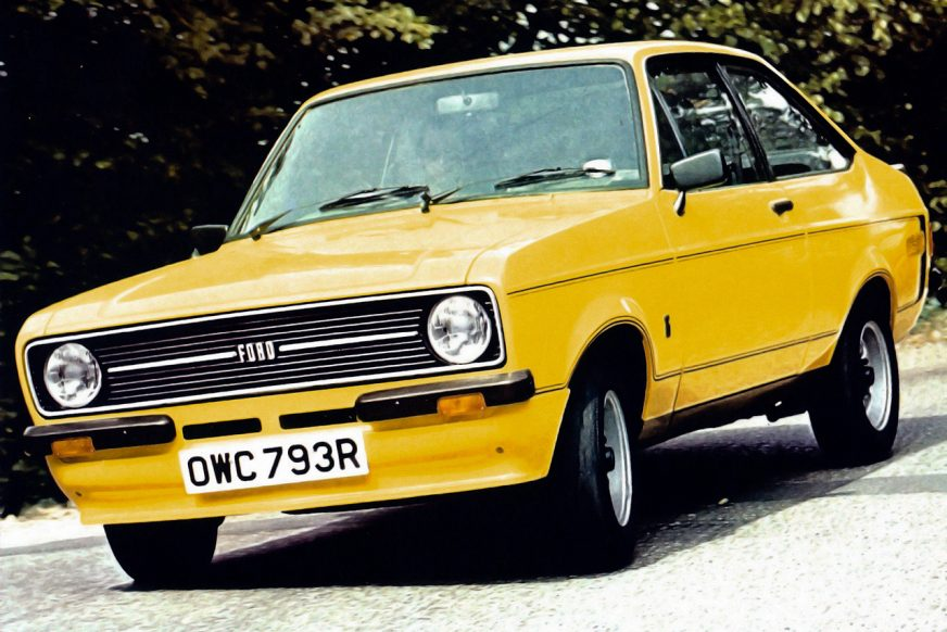 Ford Escort RS Mexico (1975)
