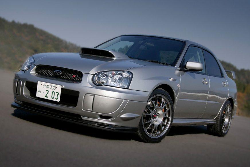 Subaru Impreza WRX STI S203