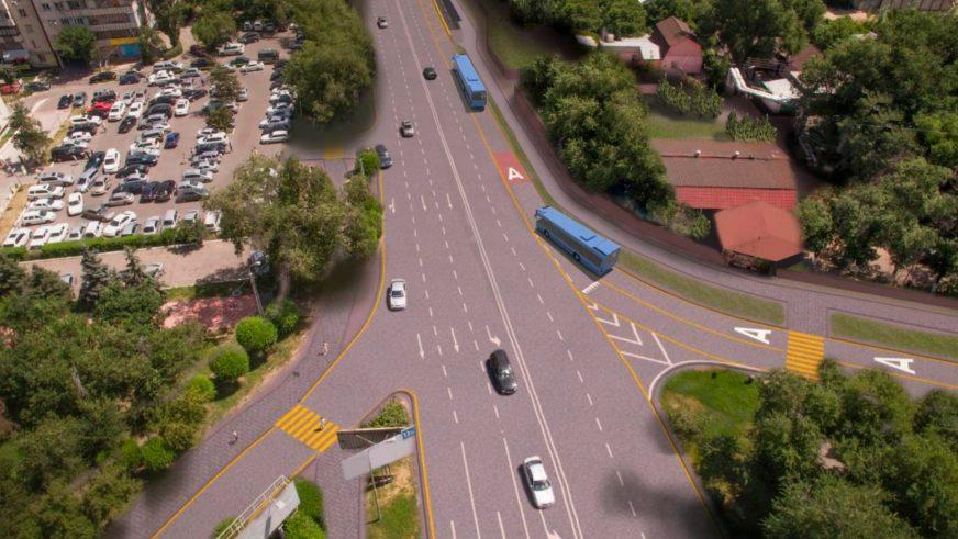 BRT на Жандосова и Тимирязева в Алматы появится уже в сентябре