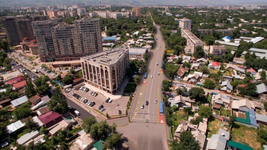 Жандосов көшесіндегі BRT