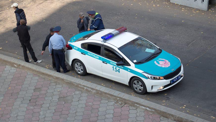 2016. Kia Cerato третьего поколения (YD) после рестайлинга на службе в полиции Алматы