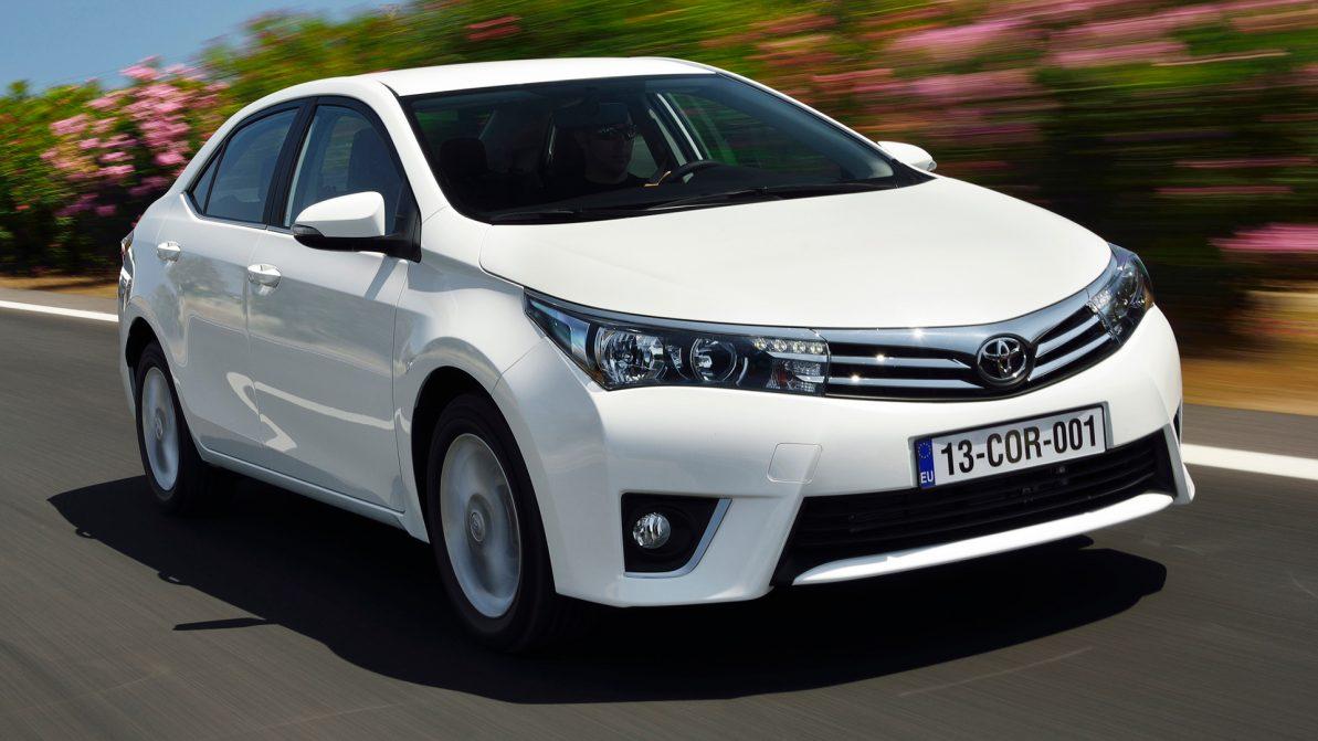 Toyota отзывает «Короллу» в России