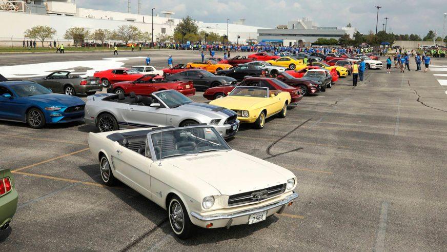 Компания Ford выпустила 10-миллионный Mustang