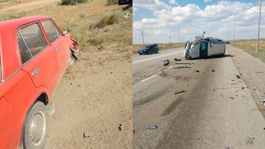 Двое погибли в серьёзном ДТП на трассе Жезказган – Сатпаев