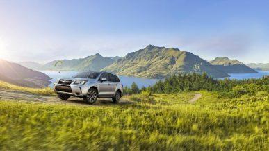 Двойная победа автомобилей Subaru